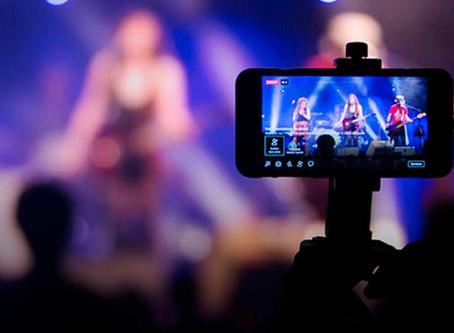 Llega el negocio de los conciertos virtuales.