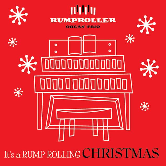 """Rumproller Organ Trio, """"It's a Rump Rolling Christmas"""" (2020)"""