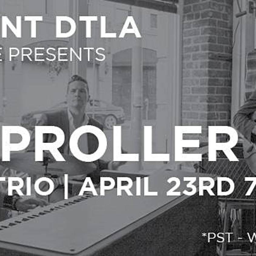 Rumproller Organ Trio Live-Stream at The Resident