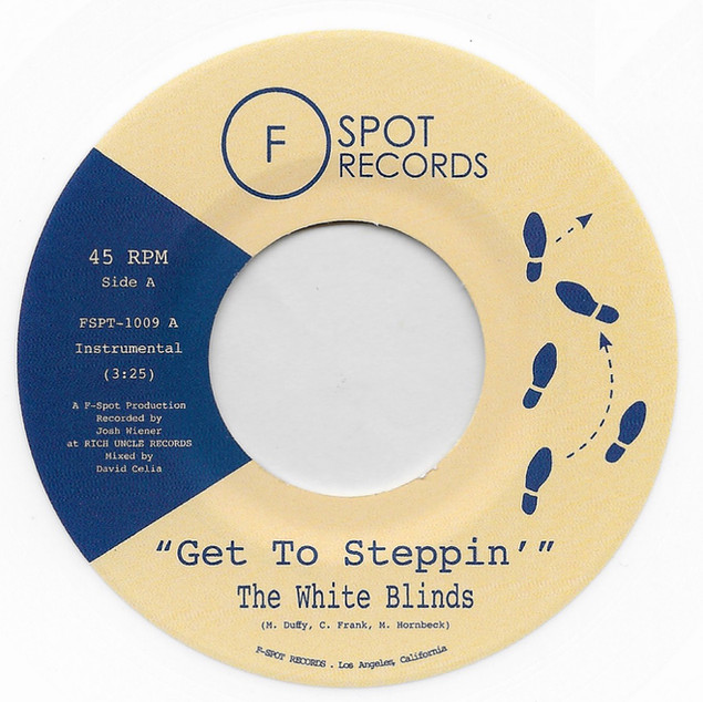 """The White Blinds, """"Get To Steppin"""" & Blinded"""" (2018)"""