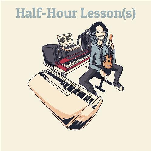 Half-Hour Lesson(s)
