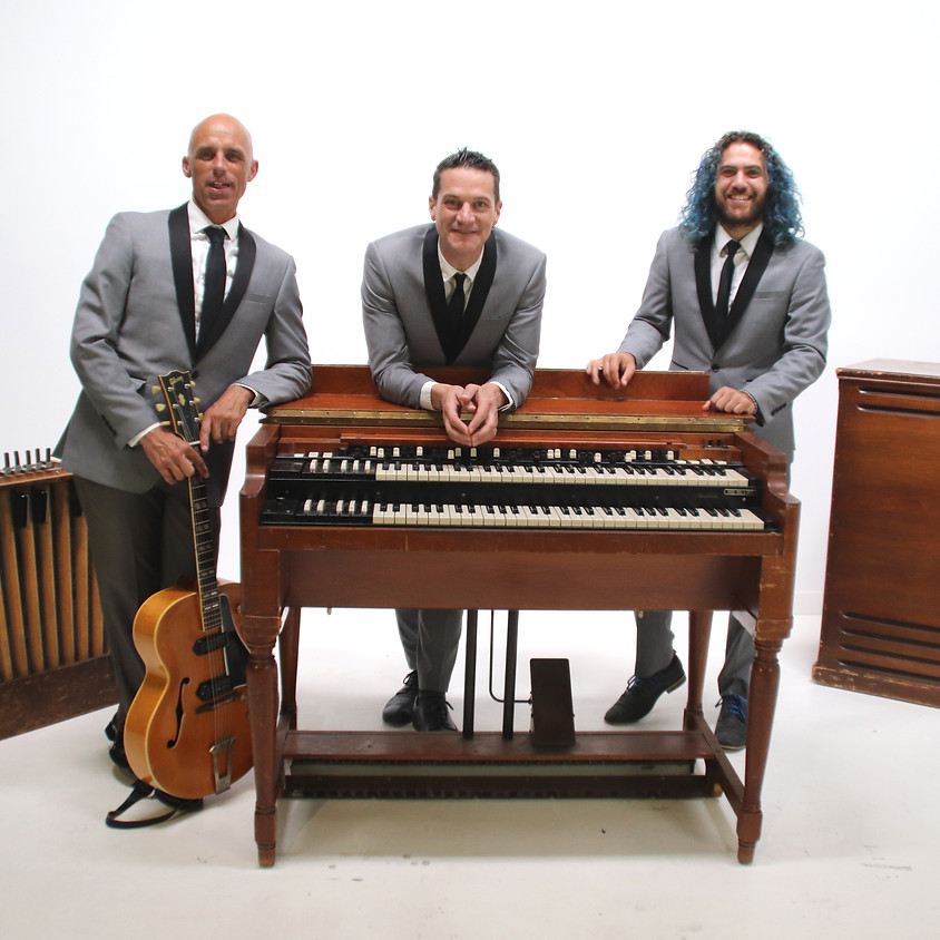 Rumproller Organ Trio at Casa Romantica, San Clemente