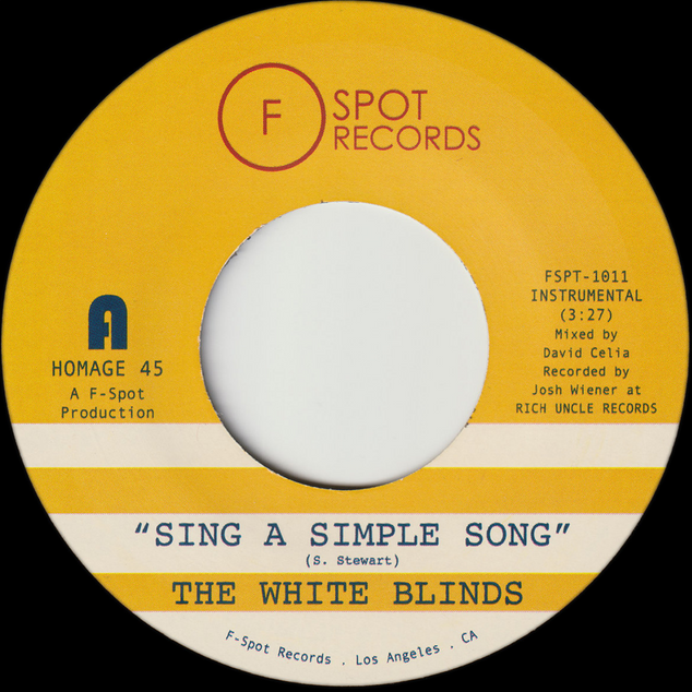 """The White Blinds, """"Sing a Simple Song"""" & """"Klapp Back"""" (2019)"""