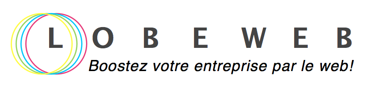 Logo lobeweb + baseline