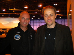 Bertrand Piccard & myself