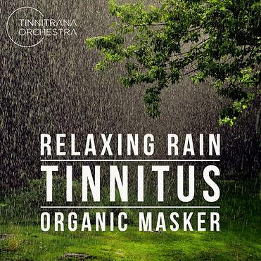 Tinnitrana Orchestra Relaxing Rain Tinnitus Organic Masker