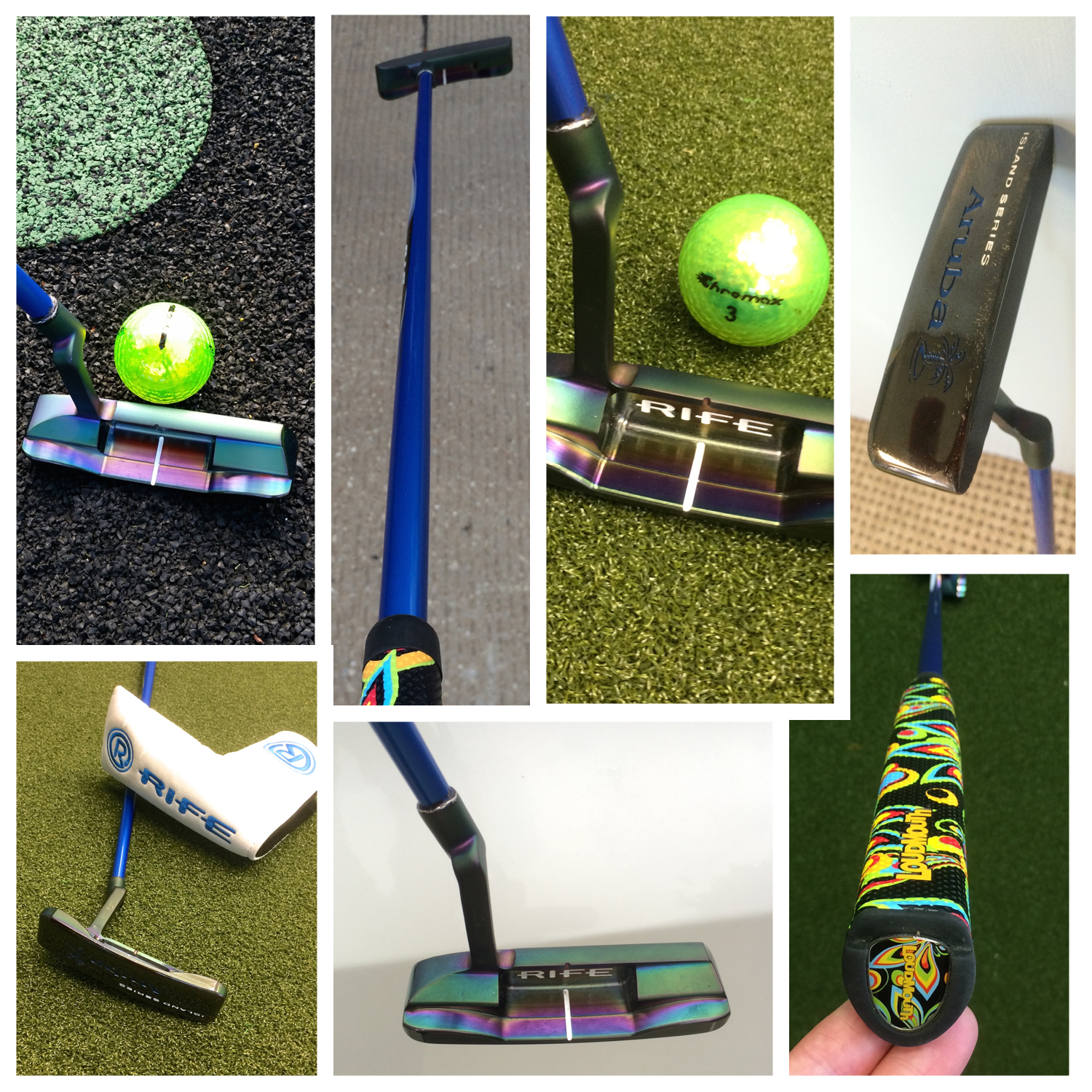 Custom Rife Putter