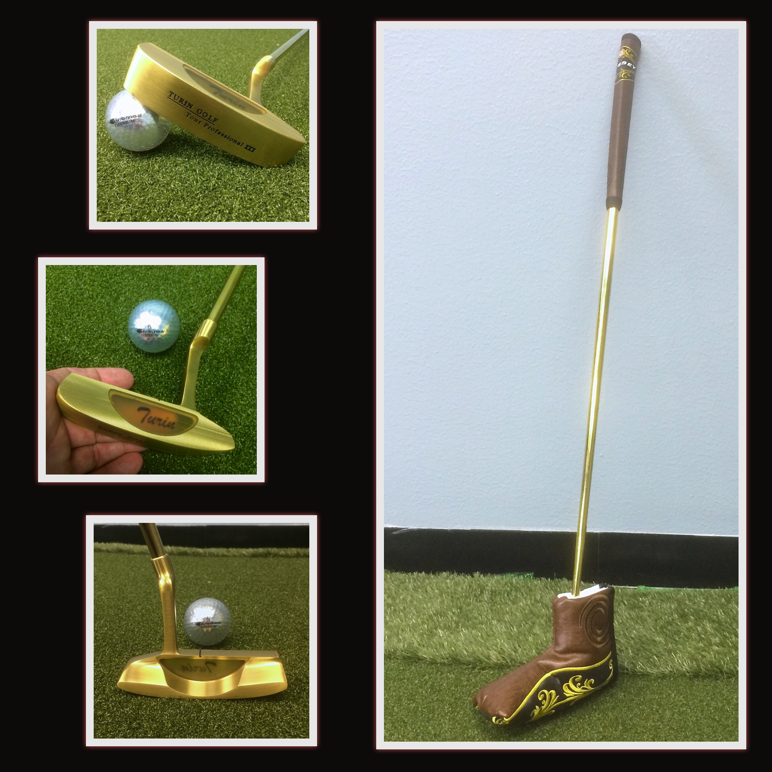 Golden Cigar Victory Putter