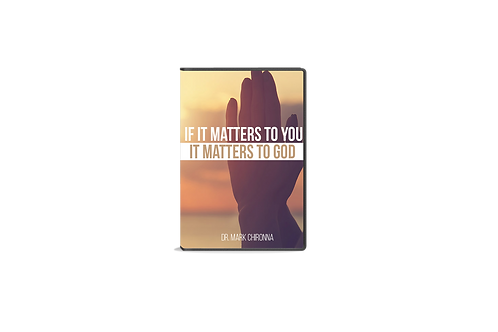 If It Matters To You It Matters To God | 4 Cd's