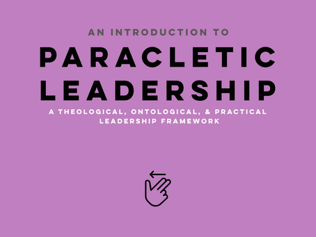 What is Paracletic Leadership?