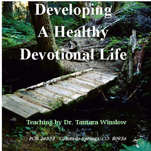 Developing A Healthy Devotional Life | MP3