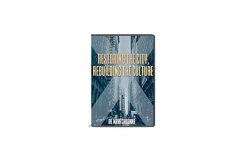 Restoring The City, Rebuilding The Culture | 4 Cd's
