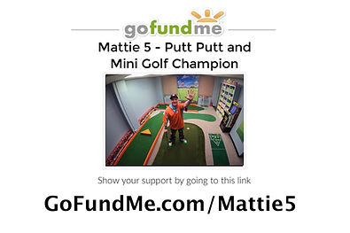 MATTIE 5 GoFundMe Sticker for Postcards.
