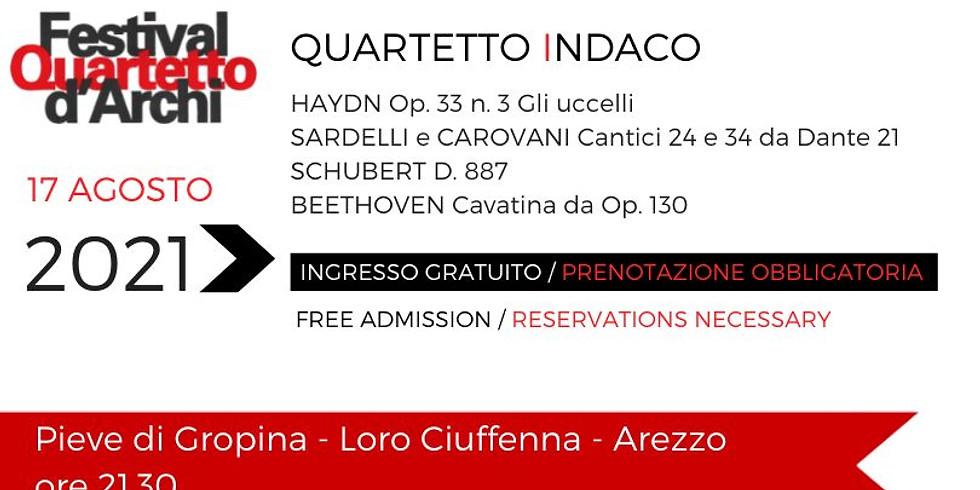 27° Festival del Quartetto D'Archi - Quartetto Indaco