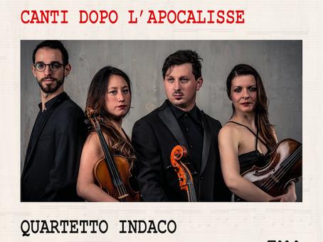 Andrea Portera – Canti dopo l'Apocalisse. Quartetto Indaco (cd Cinque stelle su TGmusic.it)