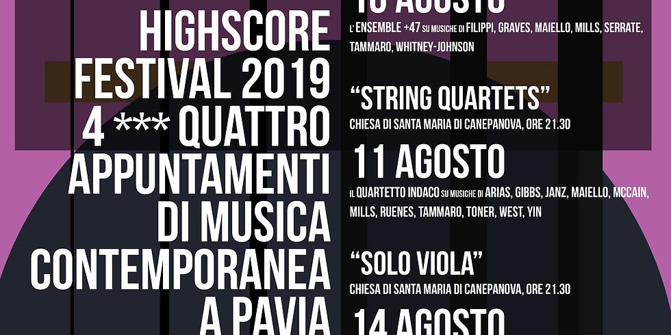 highScore String Quartets