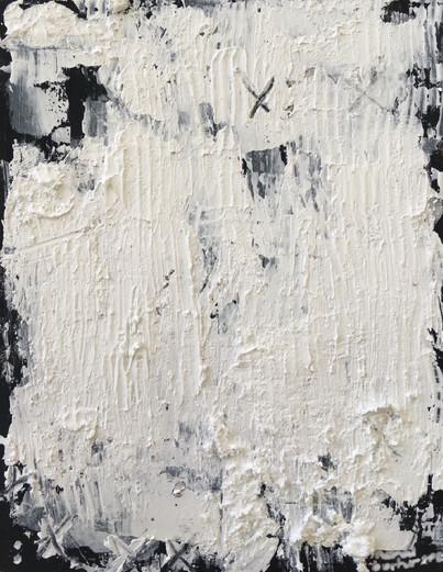 """Meral BATUR ÇAY, """"Bilgeliğin Uykusu"""", Tuval Üzerine Karışık Teknik, 8 x 11 cm, 2021."""