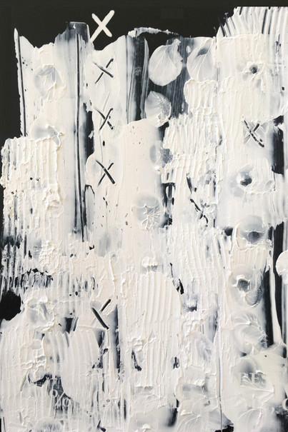 """Meral BATUR ÇAY, """"Düşler Tarlası"""", Tuval Üzerine Karışık Teknik, 10 x 14 cm, 2021."""
