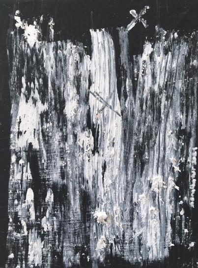 """Meral BATUR ÇAY, """"Psişik Evimize Giden Yol"""", Tuval Üzerine Karışık Teknik, 7,5 x 10 cm, 2021."""