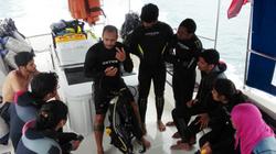 Briefing onboard