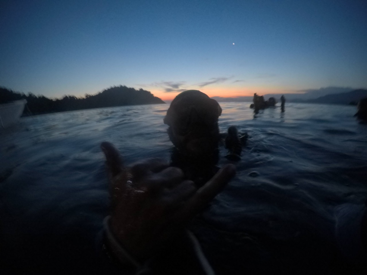 night dive ilha grande