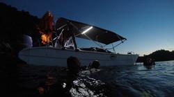 mergulho noturno brazil ilha grande