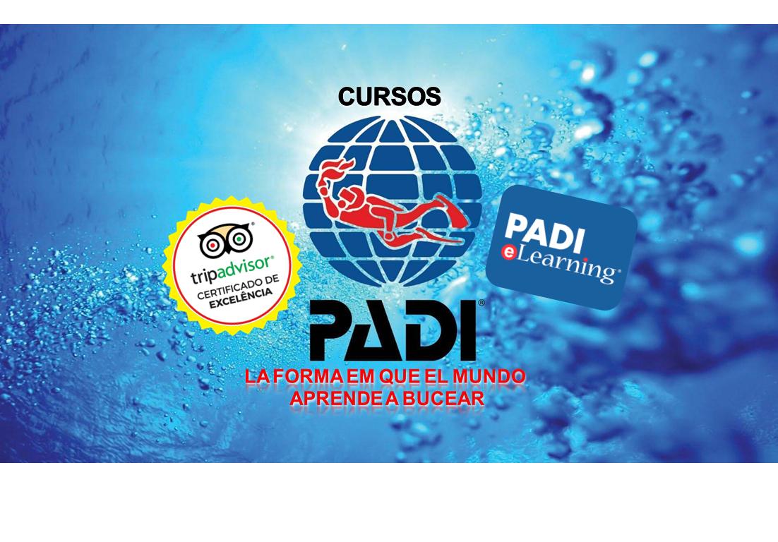PADI cursos Isla Grande