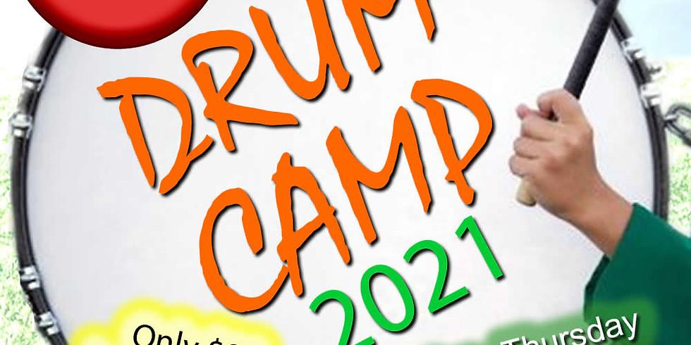 Huntsville Drumline Summer Drum Camp 2021