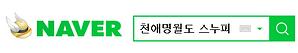 스누피의 블로그 네이버 검색 01.PNG