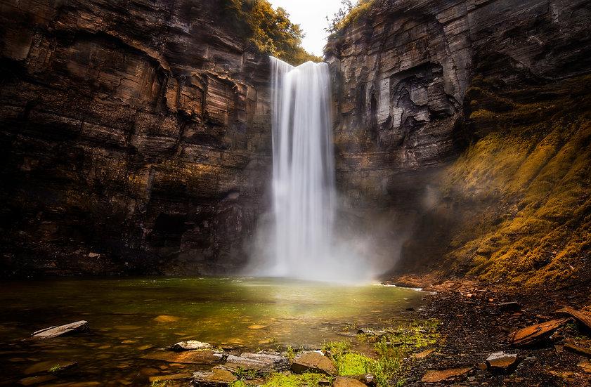 taughannock falls, waterfalls of new york, huge waterfall print,
