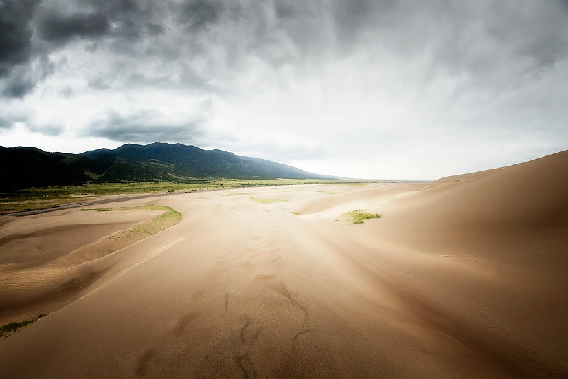 sand dunes, national park, colorado