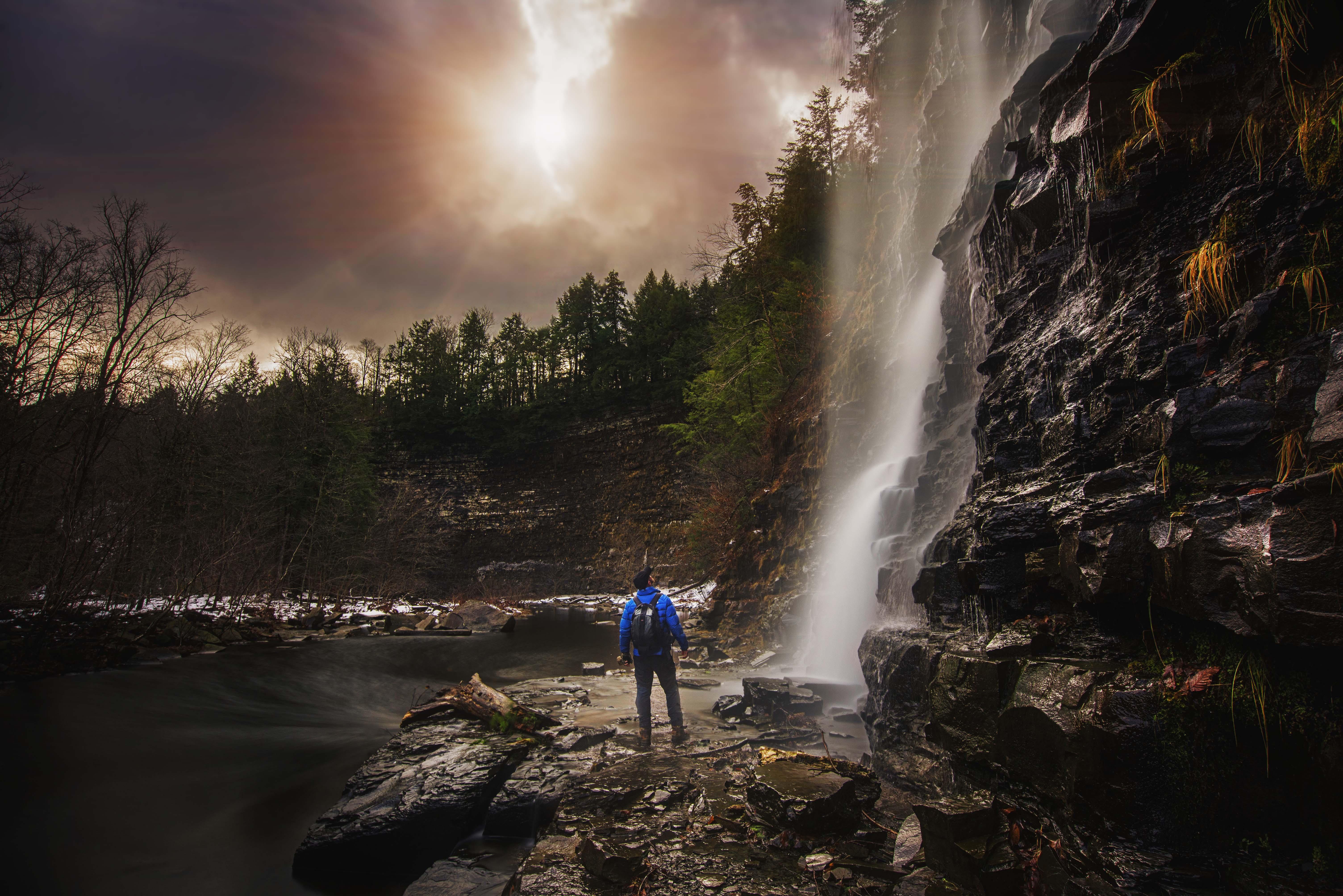 salmon river falls- ny
