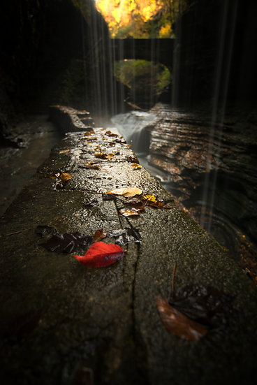 Watkins Glen State Park in October