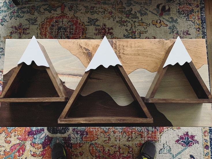 Mountain Wall Shelves