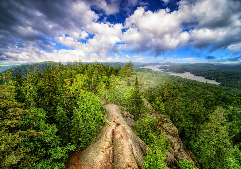 Bald Mountain, old forge, fire tower challenge, adirondack mountains