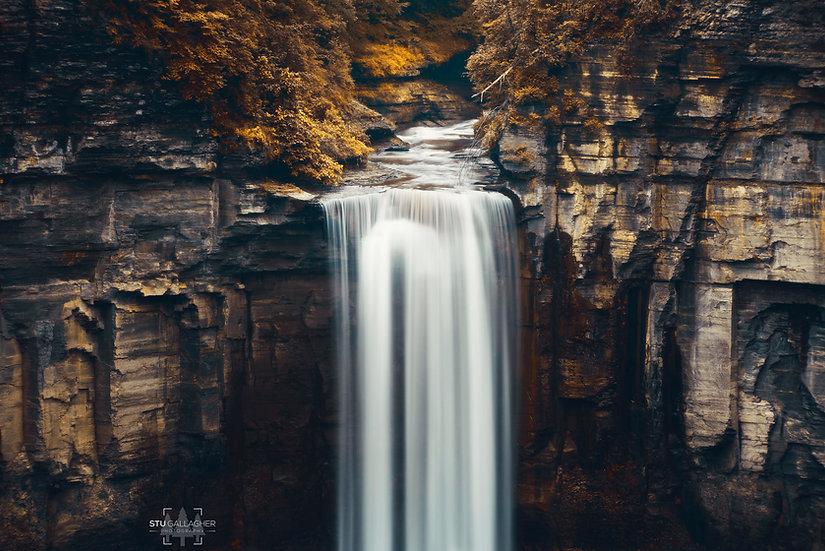 Taughannock Falls- Autumn