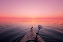 Paddling Lake Ontario