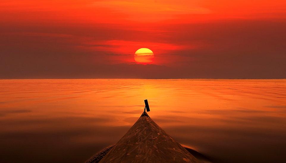 Sunset Kayak on Lake Ontario