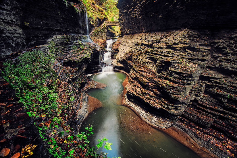 watkins glen state park, waterfalls of new york, finger lakes photography
