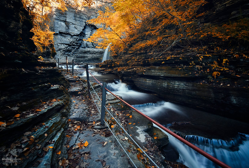 Eagle Cliff Falls- Autumn