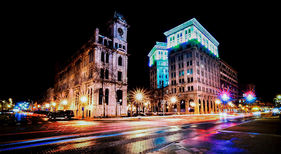 syracuse at night,