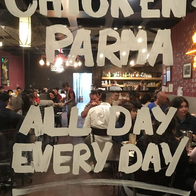 Chicken Parma Universal Restaurant