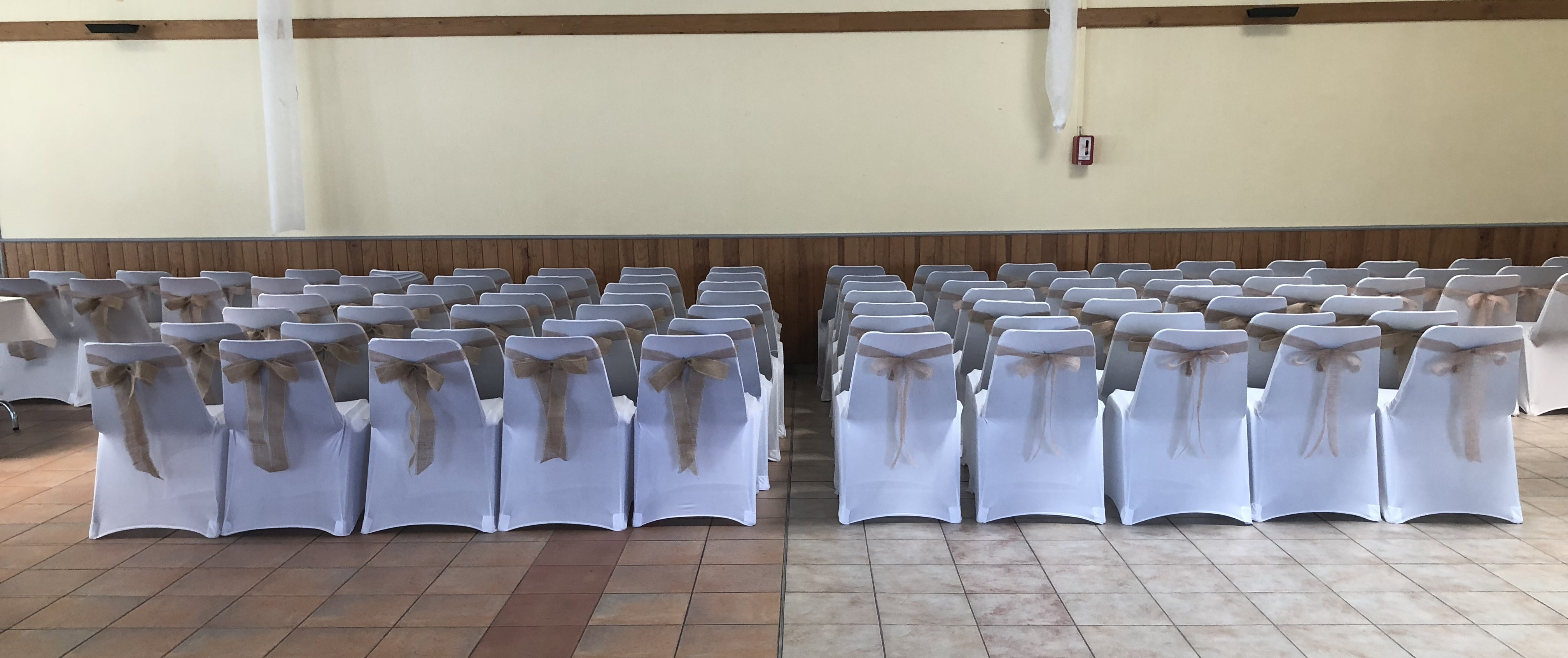 Housses de chaises lycra