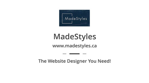 MadeStyles Promo Video