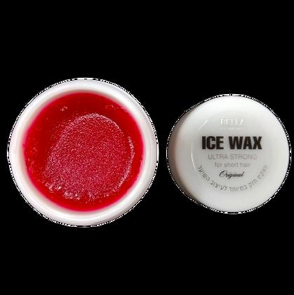 ICE WAX  אייס ווקס אדום. ווקס חזק  לעיצוב השיער 7290015046053