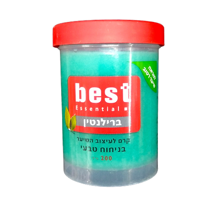 Best בסט ברילנטין לשיער - קרם שיער שמנוני 7290010112555