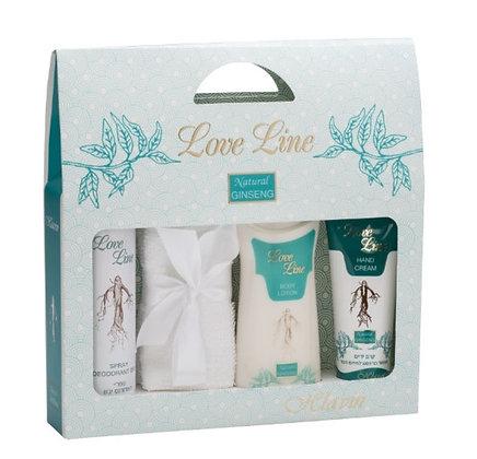 7296179021745  hlavin love line women  gift set חלאבין לאב ליין סט מתנה תכשירי טיפוח לאישה