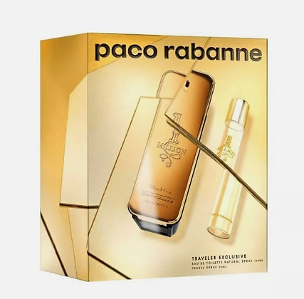 3349668571741  One Million by Paco Rabanne set ואן מיליון מבית פקו רבאן סט