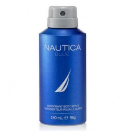 Nautica Blue נאוטיקה בלו דאודורנט ספריי. מוצרי טיפוח גוף לגבר