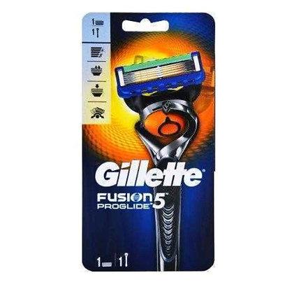 7702018390700  Gillette Fusion Proglide ג'ילט פיוז'ן פרוגלייד מכונה+סכין